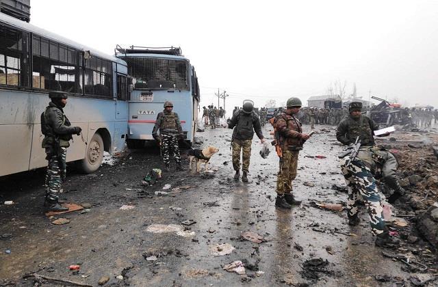 pulwama terror attack terrorist list