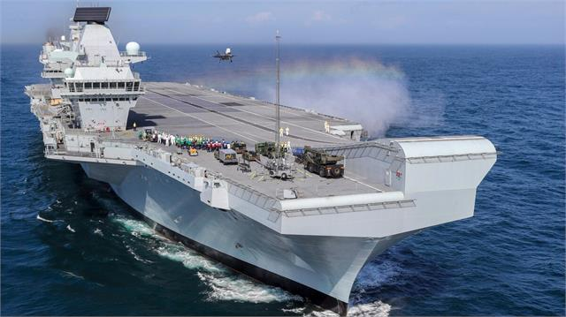 uk raises pressure on china with carrier deployment to asia