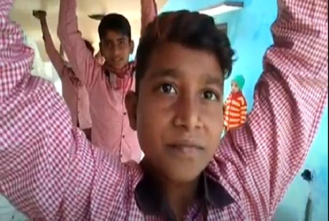 after months the teacher paid wages to the children who reached the school