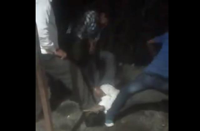worker brutally beaten on charges of theft