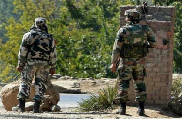 j k pakistan firing in balakote sector bsf asi martyr