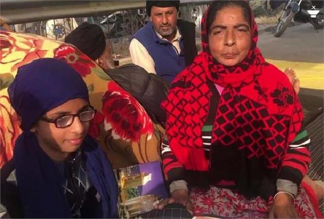 11 year old daughter became subject of discussion in farmers  movement