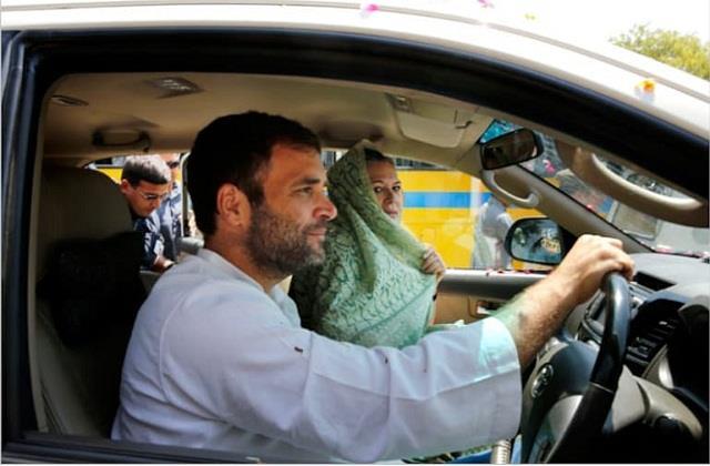 rahul gandhi abroad on congress foundation day congress clarification