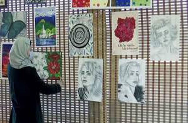 art exhibition in kashmir by jktdc