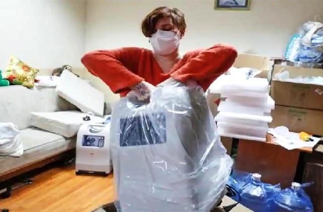 नेक काम: कोरोना मरीजों को नई जिंदगी दे रही लीसिया, उपलब्ध करवा रही फ्री ऑक्सीजन जनरेटर