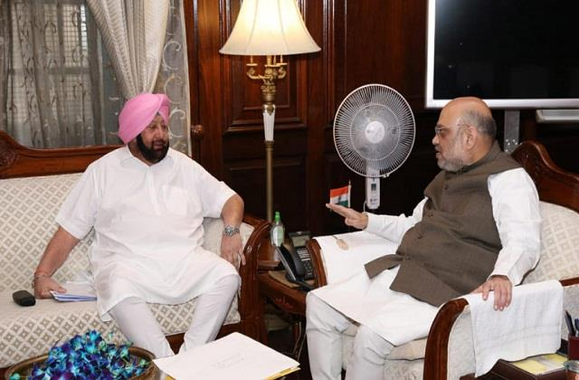punjab cm after meeting home minister shah over farmers stir