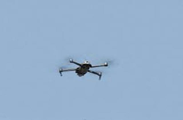 pakistani drone seen in ib rs pura