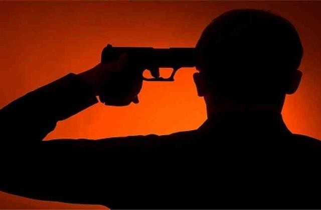 youth commits suicide after shooting with license revolver mentally disturbed