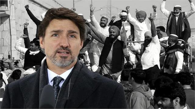 why did justin trudeau support farmers agitation in india
