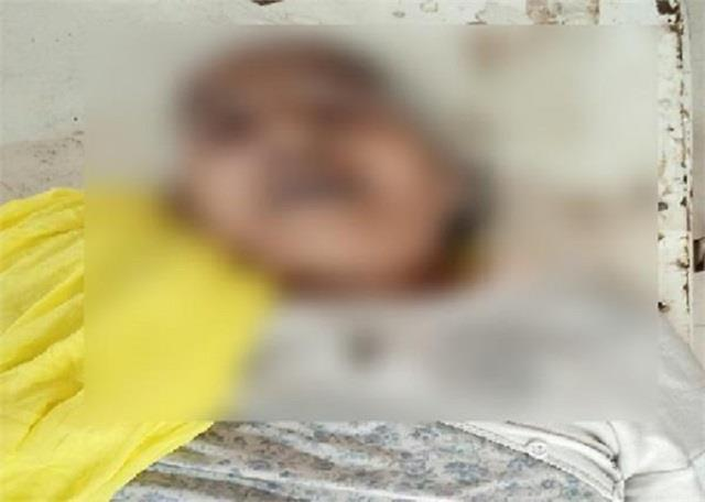 elderly farmer woman dies of heart attack