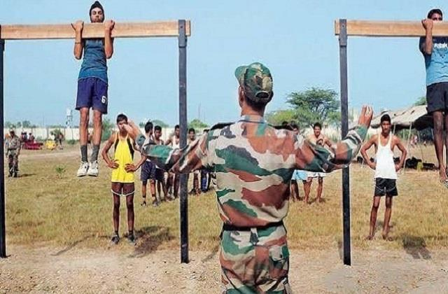indian army holds recruitment rally in these two districts
