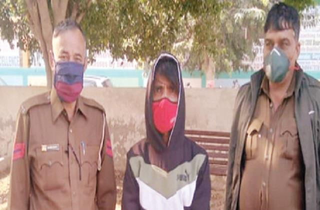 theft accused arrested mobile phone recovered