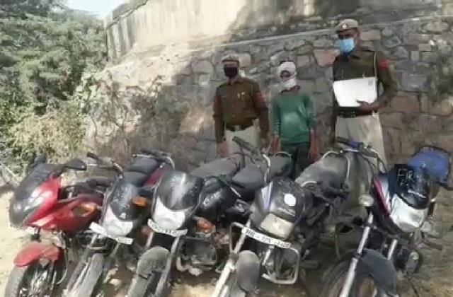 crime team arrested vicious vehicle thief