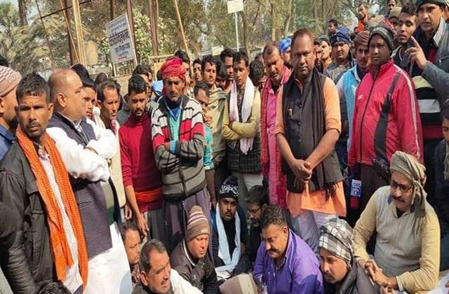 rjd leader murdered in bihar s bhojpur body found