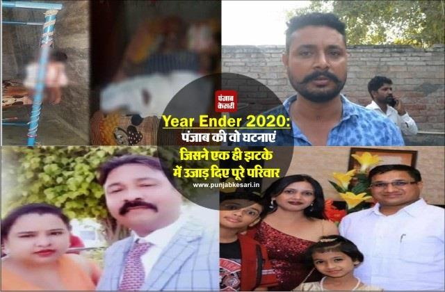suicide incidents inside punjab in the year 2020