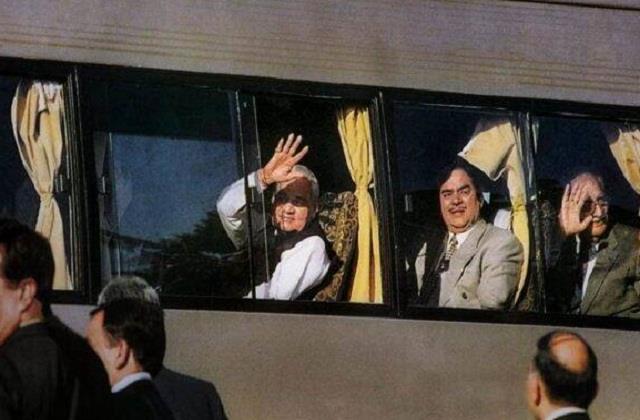 atal bihari vajpayee lahore bus tour