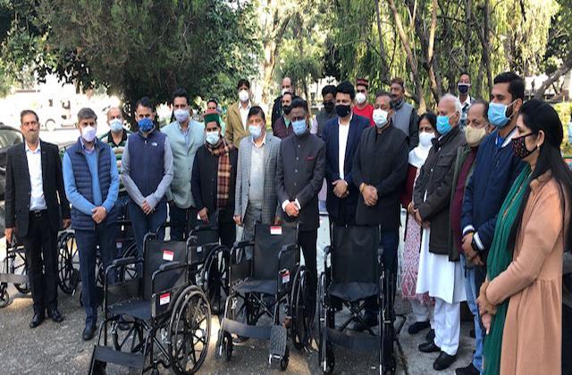 congress committee gave health material in tanda