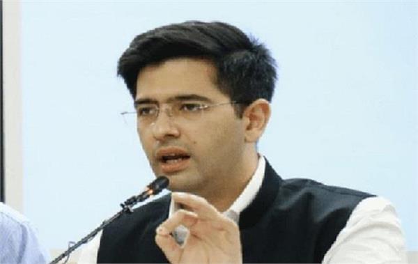 aam aadmi opposed bittu not aam aadmi party  raghav chadha