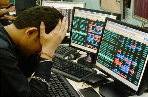bse falls over 440 points in early trade nifty below 15 000 points