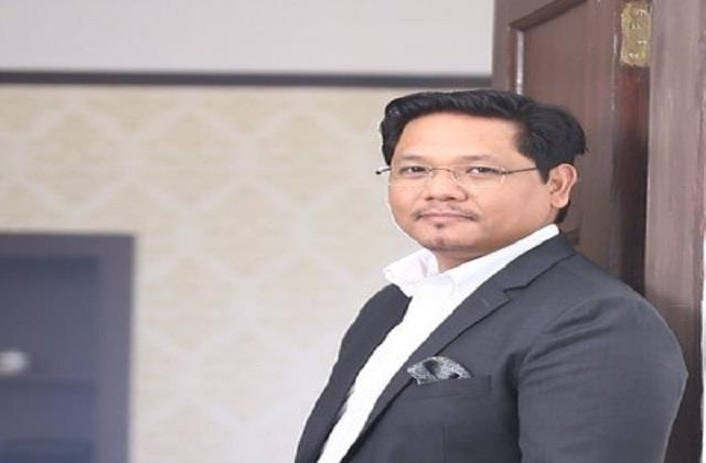 meghalaya chief minister conard sangma corona infected tweeted information