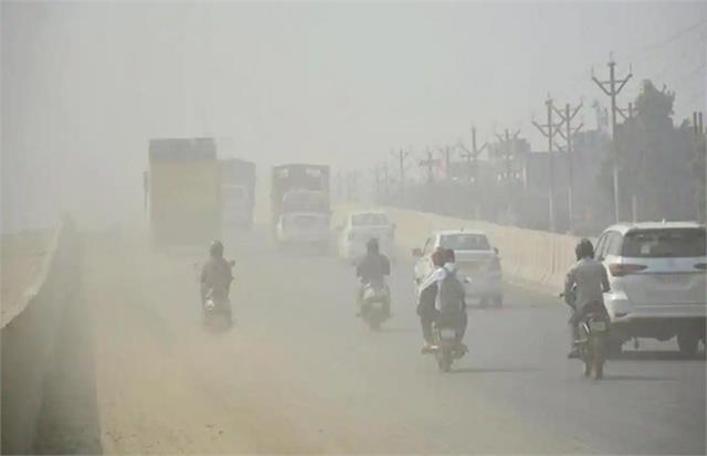 air pollution level in ncr reached  very poor  category