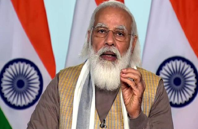 pm modi said  today s glory should be seen in the national capital