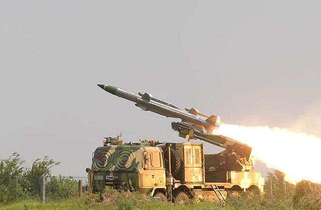 akash will hit enemy aircraft in a moment iaf tests 10 missiles