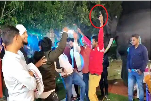 pleased with illegal dance with dance on bhojpuri songs breaking the law