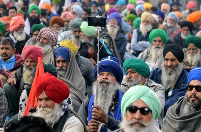 nimisha mehta celebrate new year farmers delhi s singhu border