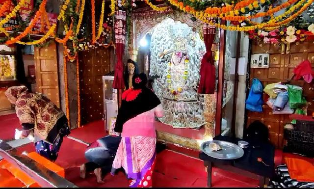 thieves steal in kali mata temple of sonipat