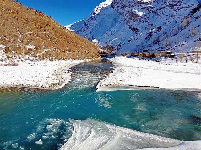 temperature reached minus 12 degrees in keylong