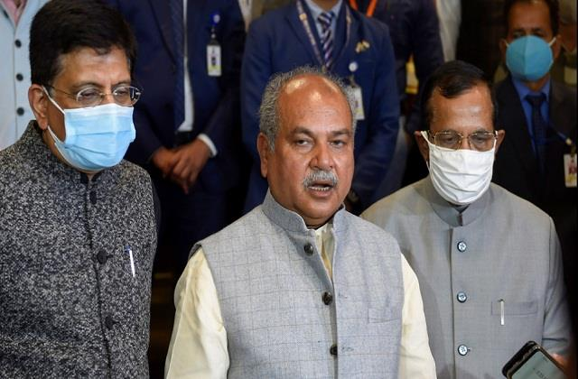 narendra singh tomar said we want concrete suggestions