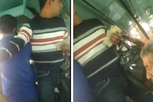 indecency in private bus with girl students despite receipt of bus pass