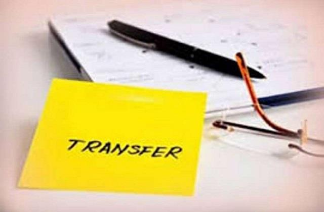 9 ias officers transferred including divisional commissioner