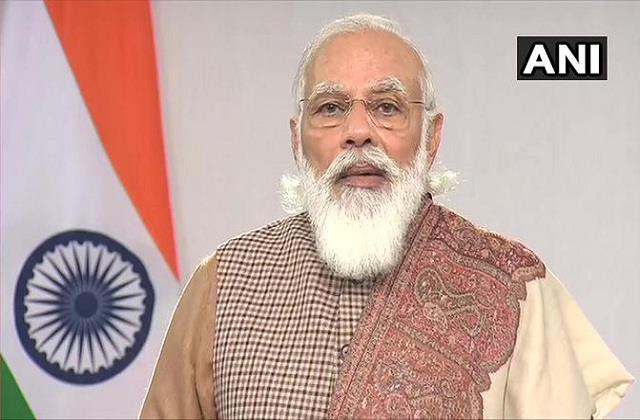 pm modi said we are emphasizing on reforms in every field