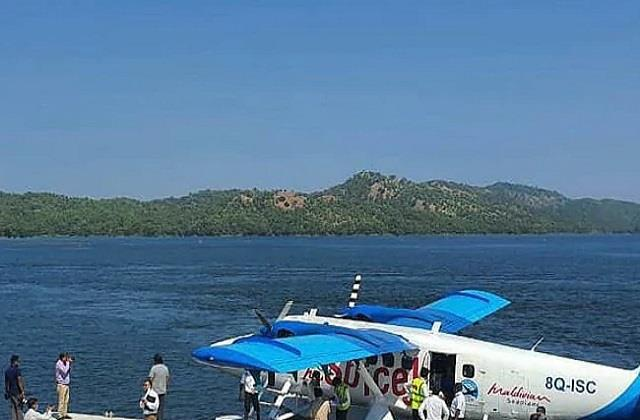 statue of unity s sea plane service to resume from december 27