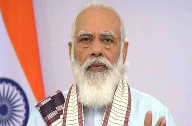 pm modi to lay foundation stone for residential project in rajkot today