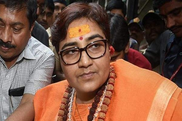 bjp mp from bhopal pragya thakur receives a threatening letter