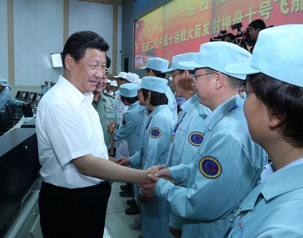 china nasa usa mars xi jinping
