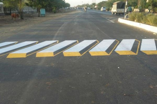 correct order of road ministry to remove speed breakers from national highways