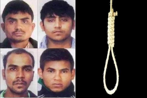 nirbhaya scandal practice of hanging four convicts in tihar