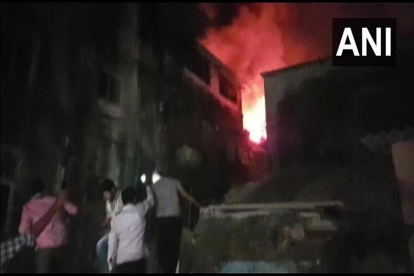 mumbai fire in two storey building in kurla area