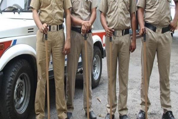 cid of haryana department laggards and u p police do extortion