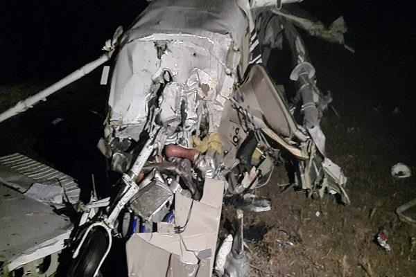 private trainee aircraft crashes in madhya pradesh s sagar 2 people dead