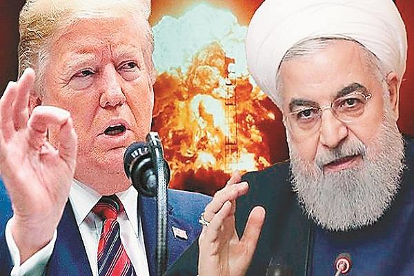 iran leaves the path of  confrontation  with trump