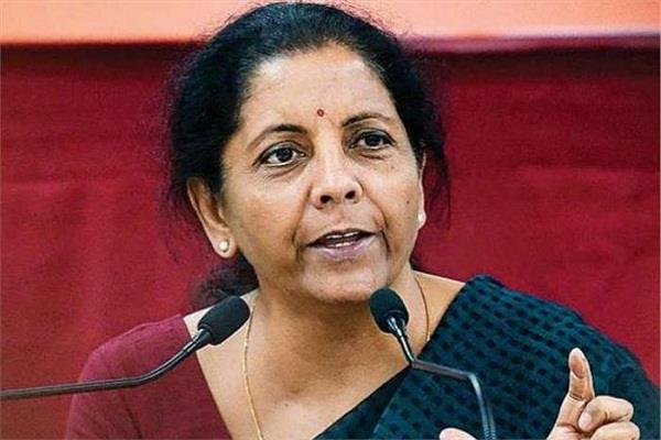 off the record why nirmala was absent from niti aayog meeting