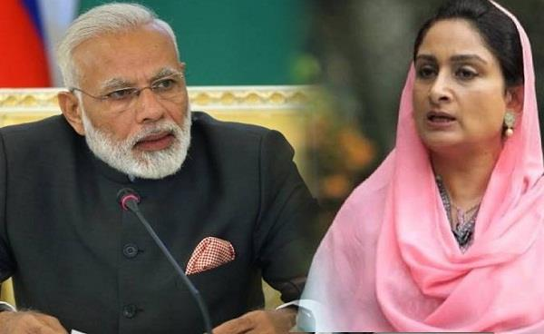 harsimrat kaur badal s expected to resign from union cabinet
