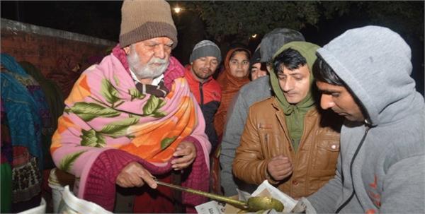 padma shri to langar baba of chandigarh
