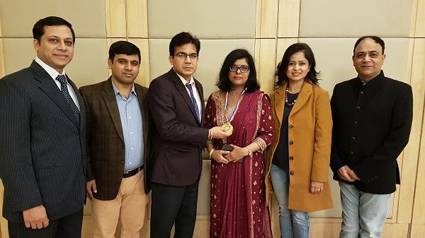 dr anupama sagad took over as the head of jalandhar academy of pediatrics