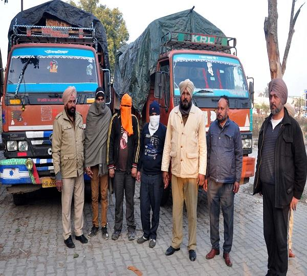 excise department has recovered 3 trucks of liquor